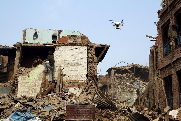 drone constat sinistre