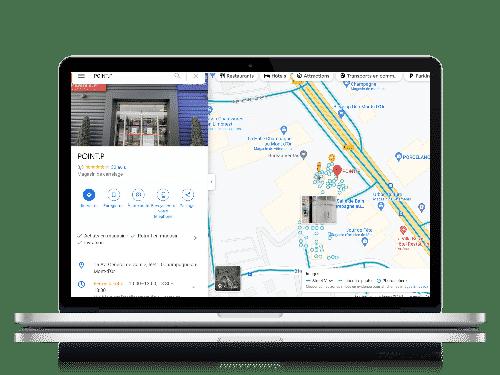 integration visite street view google maps