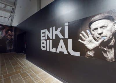 Visite virtuelle 3D de l'Exposition Enki Bilal