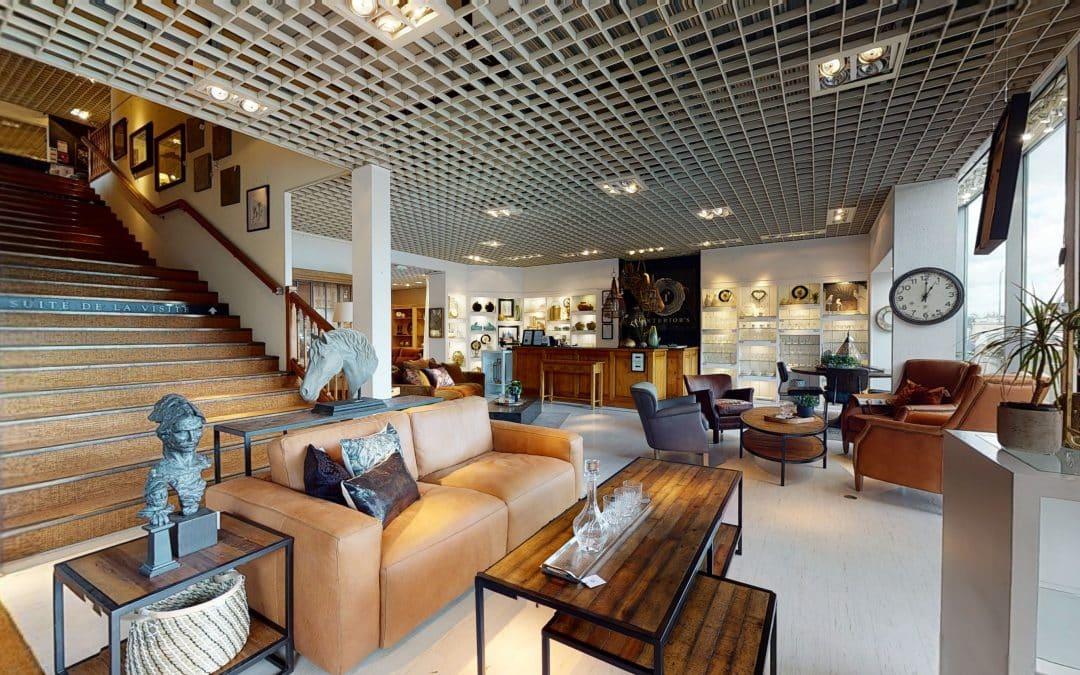 Showroom de mobilier et décoration Interior's