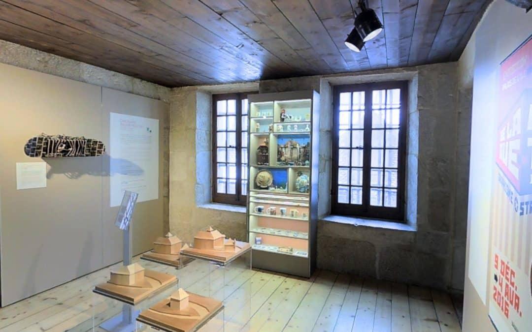 Visite virtuelle 3D du Palais de l'Ile à Annecy