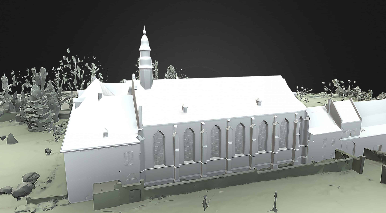maquette bim lod300 monastere scaled